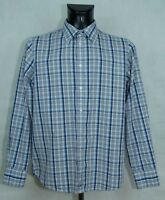 MENS BEN SHERMAN SHIRT LONG SLEEVE COTTON SIZE L VGC