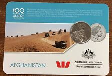 2016 Westpac RAM 20 cent coin - Afghanistan