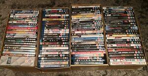 WHOLESALE DVD & BLU-RAY JOBLOT USED Large Mixed  JOBLOT -  FREE POST!