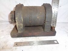 Wooden Low tension coil for hit miss engine IHC Mogul