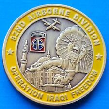 82nd Airborne Division - Parachute Airplane Aircraft Dragon 40mm unusual coin