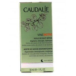 Caudalie Vine [Activ] Huile De Nuit Détox 30 ml - NEUF