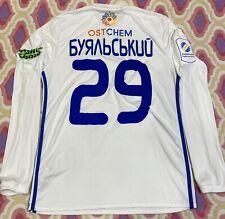 DYNAMO KIEV T-Shirt Match Worn Jersey Ucraina Adidas Original