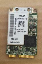 ORIGINAL DELL WIRELESS MINI PCI-E WLAN WIFI LAPTOP CARD NJ449 BRCM1022  #03