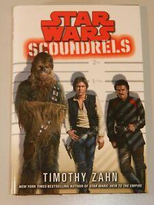 Star Wars: Scoundrels by Timothy Zahn Hardcover Han Solo Chewbacca Lando