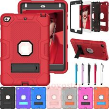 For iPad 8th 7th 6th 5th Gen Mini 5th 4 Shockproof Rugged Armor Hard Case Cover
