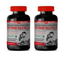 sexual vitality supplement - EXTREME MALE PILLS 2 Bottles - maca root extract