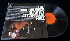 The Dave Brubeck Quartet at Carnegie Hall pt1 - 1963