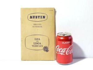 Vintage Austin Driver's Handbook LDA and LDOA Vehicles Booklet