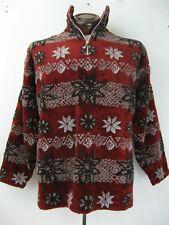 Territory Ahead 1/2 Zip Warm Winter Snowflake Cozy Christmas Sweater Size L/XL