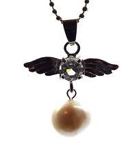 Modeschmuck-Halsketten & -Anhänger aus Edelstein mit Perle