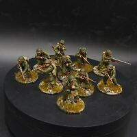 Well Painted 28mm Bolt Action us airborne (plastics) ×10 Squad #7 Ww2