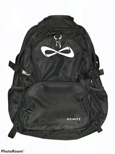 Nfinity Classic Backpack in Black - IT'S LUCKY - Cheer Bag - Large