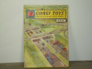 Catalog Brochure Corgi Toys Netherlands 9/60 *42725