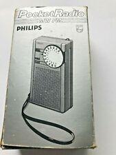 1960's Philips Pocket Radio in original box