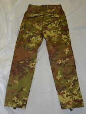 New Italian camo combat pants size small (#bte74)
