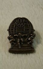 Usa Olympics Lapel pin brooch collectible pinback bronze color