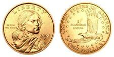 2002 P&D Native American Sacagawea Uncirculated Dollars US Mint Coin Set Money