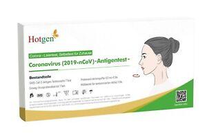Hotgen Corona Schnelltest Antigen Einzelverpackung Laientest für zu Hause