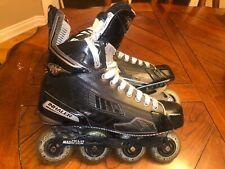 Mission Inhaler Ds1 Roller Hockey Inline Skates Size 11.5D Magnesium chassis