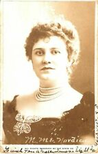 *19Th & Early 20Th Century Opera Star Lillian Nordica Rare 1906 Photograph*