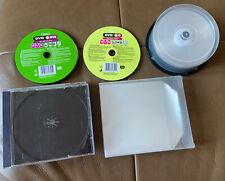 CD-R   DVD+R   DVD+RW    Bundle And Cases