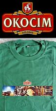 Carlsberg Poland OKOCIM BEER Men's t-shirt green L