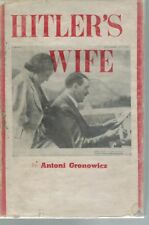 HItlers' Wife 1942 1st Edition HC BOOK