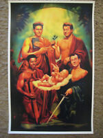 """Ghostbusters - Fabulous Four Painting ( 11"""" x 17"""" ) Collector's Poster Print"""