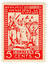 Spanish Civil War Spain & Colonies Stamps