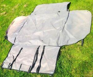 Waterproof Audi A4 Estate/Avant Boot liner protector (2000-2006) Grey/Black