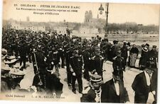 CPA Orléans-Fétes de Jeanne d'Arc-La Procession traditionnelle reprise (265952)