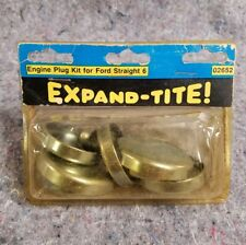 Expand-Tite Expansion Plugs Ford Straight 6 Falcon Mustang 60-83 144 170 200 250