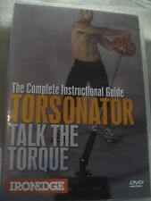 """NEW"" WEIGHT TRAINING DVD ""COMPLETE INSTRUCT GUIDE TORSONATOR - TALK THE TORQUE"""