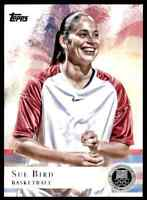 2012 TOPPS OLYMPICS SILVER SUE BIRD BASKETBALL #20 PARALLEL