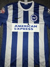 Brighton And Hove Albion Match Worn & Signed Home Shirt 2014/15 Murphy 15 Medium