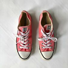 Converse All Stars pink canvas trainers UK6 EU39