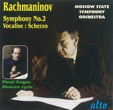 Pavel Kogan, R. Rach - Symphony 2 / Vocalise / Scherzo in D minor [New CD]