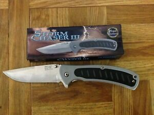 """Storm Chaser III/ 7-1/2"""" Lock Blade, Belt clip, composite handle and Thumb std."""