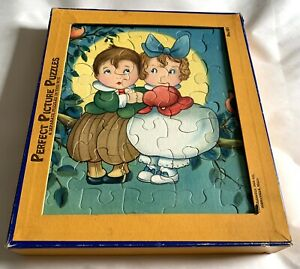 Vintage Boxed Set Of 6 Children's Jigsaw Puzzles - Consolidated Box Co.