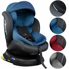 ISOFIX Auto Kindersitz 0-36kg Gruppe 0+1/2/3 AUTOSITZ 360°Drehbar Seitenschutz