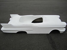1958 Cadillac hot rod stroller pedal car fiberglass body rat rod 1959 1957