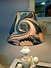 Jean Paul Gaultier Fabric Empire Lampshade - 23 cm base Designer Art WAVES