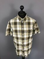 MUSTANG Short Sleeved Shirt - XL - Check - Great Condition - Men's