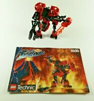 LEGO Bionicle Technic Slizer Torch 8500 Throw bots with Manual