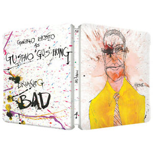 Breaking Bad : Season 4 ; Blu Ray Steelbook - 3 Disc set  ( NEW ) REG B