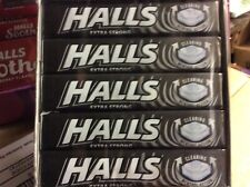 HALLS original flavour EXTRA STRONG 5 packs of 33.5g