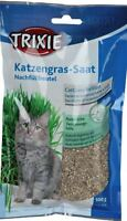 5 Pcs Barley Grass for Cats, Dish or Refill Pack, 5 x 100 G Savings Package