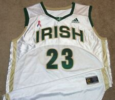 VTG AUTHENTIC LEBRON JAMES ST.VINCENT ST.MARY IRISH ONSPORTS JERSEY XXL SEWN