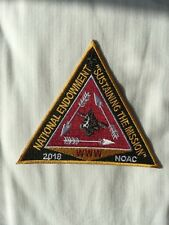 2018 NOAC NATIONAL ENDOWMENT WWW PATCH - Limited to Staff